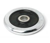 Диск для штанги хромированный 2 кг. 2453RIP