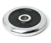 Диск для штанги хромированный 3 кг. 2454RIP