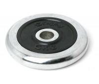 Диск для штанги хромированный 5 кг. 2455RIP
