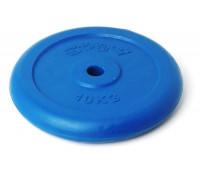 Диск для штанги обрезиненный 10 кг. 2498IP