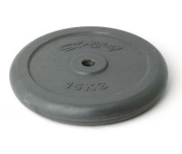 Диск для штанги обрезиненный 15 кг. 2499IP