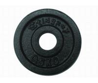 Диск для штанги крашенный 0,5 кг. 4601AP
