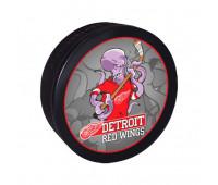 """Шайба хоккейная""""GUFEX""""взрослая NHL Detroit Red Wings"""