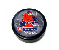 """Шайба хоккейная""""GUFEX""""взрослая NHL Monreal Canadiens"""