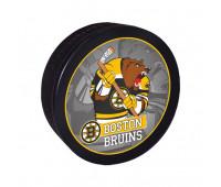 """Шайба хоккейная""""GUFEX""""взрослая NHL Boston Bruins"""