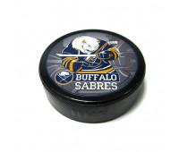 """Шайба хоккейная""""GUFEX""""взрослая NHL Buffalo Sabres"""