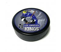 """Шайба хоккейная""""GUFEX""""взрослая NHL Los Angeles Kings"""