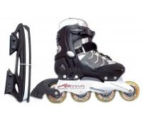 Коньки хоккейные PW-119A-2 размер 37