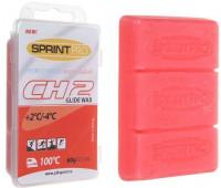 Мазь лыжная SPRINT PRO CH2 Red (+2 -4°C) 60г