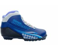 Ботинки лыжные MXN-300 Размер 35 (синий)