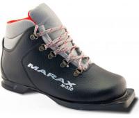 Ботинки лыжные M-330 Размер 30 (черный) кожа