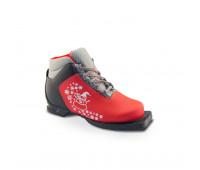 Ботинки лыжные M-350 JR (красный) Размер 32