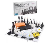 Игра 4 в 1 Интеллект (Шахматы, лото, шашки, домино) арт. 02-138