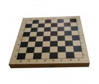 Игра шашки с игровым полем  (дерево)