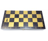 Шахматы гроссмейстерские деревянные  (400х200мм) тонированные черные