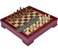 Шахматы подарочные деревянные 8112