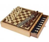 Шахматы подарочные деревянные 8115