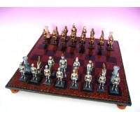 """Шахматы """"Средневековые рыцари"""" большие 25112"""