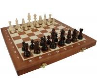 """Шахматы """"Турнирные"""" р. 4 с инкрустацией доски деревом"""