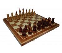 """Шахматы """"Византийские"""" с инкрустацией доски деревом"""
