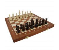 """Шахматы """"Турнирные"""" размер 5 с инкрустацией доски деревом арт. 95"""
