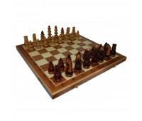 """Шахматы """"Византийские"""" с инкрустацией доски деревом арт. 130"""