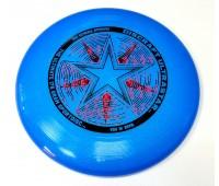 Летающая тарелка спортивная Фрисби Discraft Ultra-Star (синий искрящийся)
