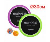 Мультидиск 30см Mini, зеленый и фиолетовый Street Hit (Fyle), арт. BSD0012