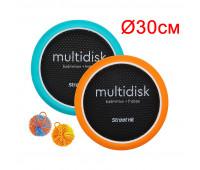Мультидиск Mini 30см, оранжевый и голубой Street Hit (Fyle), арт. BSD0013