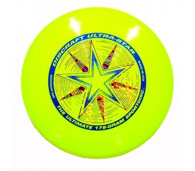 Летающая тарелка спортивная Фрисби Discraft Ultra-Star (желтый)