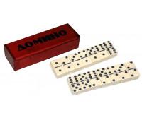 """Игра """"Домино"""" в деревянной коробке ZL08T1354A"""