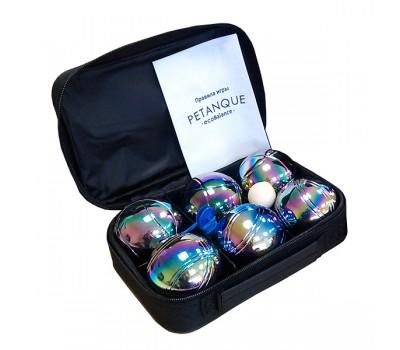Петанк радужный Бочче, набор из 6 шаров