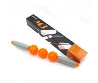 Массажер роликовый М3 (оранжевый) B31269-3