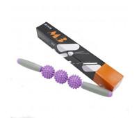 Массажер роликовый М3 (фиолетовый) B31269-6