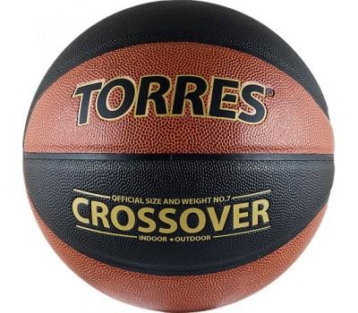 "Мяч баскетбольный  ""TORRES Crossover"" арт.B30097, р.7"