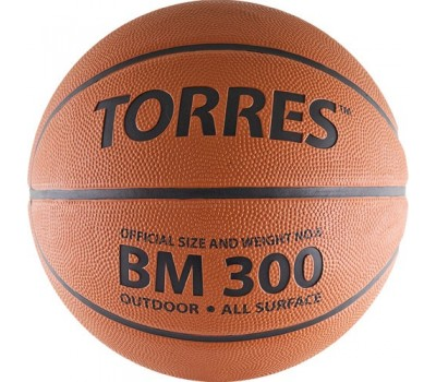 """Мяч баскетбольный """"TORRES BM300"""" арт.B00016, р.6"""