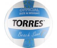 """Мяч волейбол. """"TORRES Beach Sand Blue"""" арт.V30095B, р.5,"""