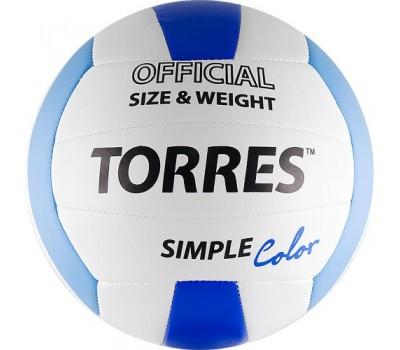 """Мяч волейбольный """"TORRES Simple Color"""" арт.V30115, р.5"""