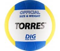 """Мяч волейбольный """"TORRES Dig"""" арт.V20145, р.5"""