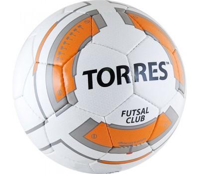 "Мяч футзальный ""TORRES Futsal Club"" арт.F30384, р.4"