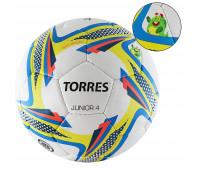"""Мяч футбольный. """"TORRES Junior-4"""" арт.F318234, р.4, вес 310-330 г."""