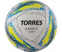 """Мяч футбольный. """"Junior-4 Super HS"""" арт.F320304, р.4, вес 290-320 г."""