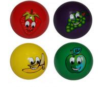Мяч игровой с рисунком и запахом фруктов G-7
