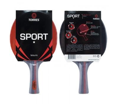 Ракетка для настольного тенниса  Torres Sport 1*