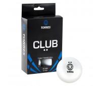 Набор мячей для настольного тенниса TORRES Club 2* бел