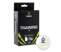 Набор мячей для настольного тенниса TORRES Training 1* бел