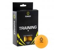 Набор мячей для настольного тенниса TORRES Training 1* оранж