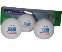 Набор мячей для настольного тенниса 2* YM-2002
