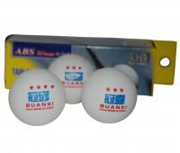 Набор мячей для настольного тенниса 3* YM-2003