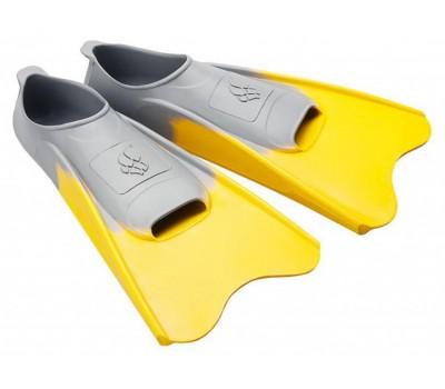 Ласты Mad Wave POOL COLOUR SHORT, 30-33, Yellow короткие